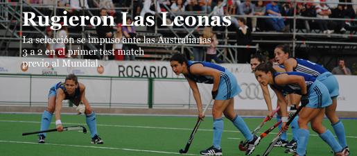 Rugieron Las Leonas