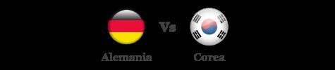 Alemania vs Corea