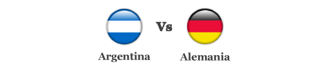 Argentina vs Alemania