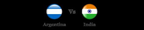 Argentina vs India