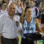 Mejor Jugadora: Luciana Aymar